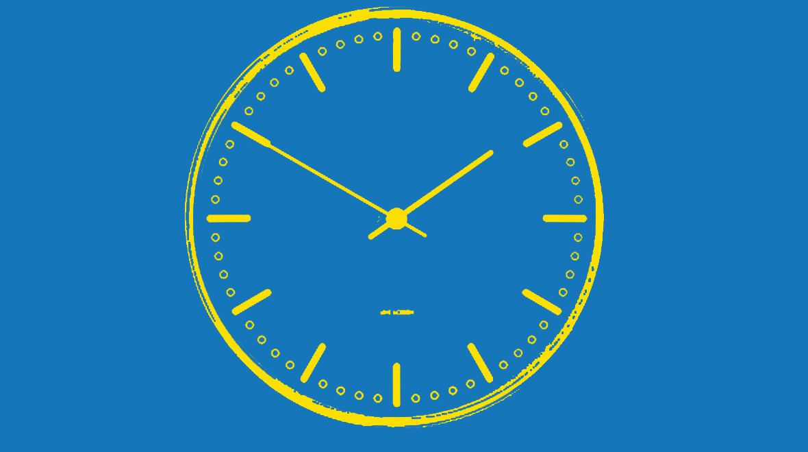 Outline of clock