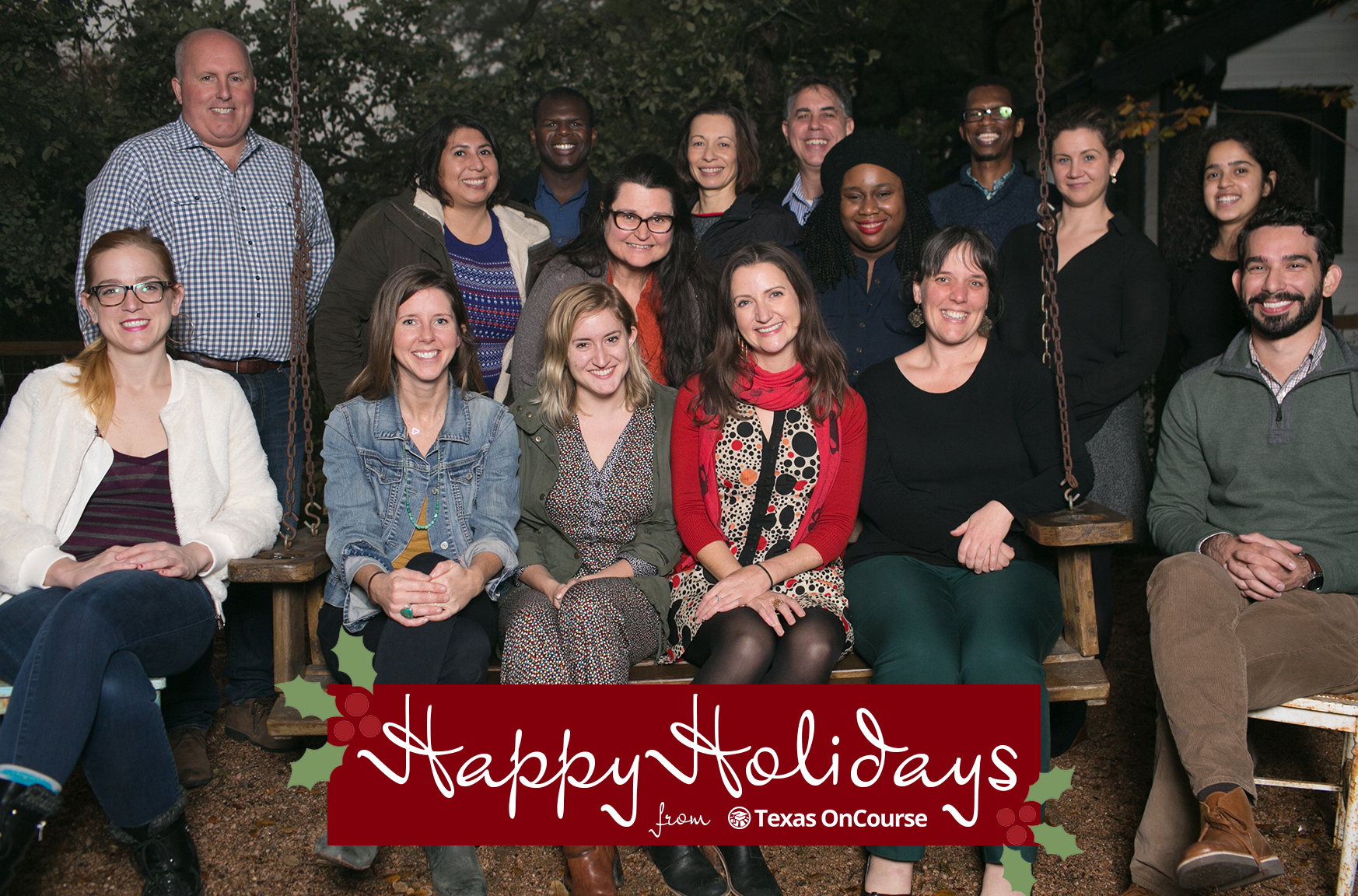 Happy holidays from texas oncourse