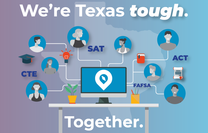 Texas Tough Together Graphic
